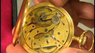 Patek Philippe pocket watch at the BBC Antiques Roadshow