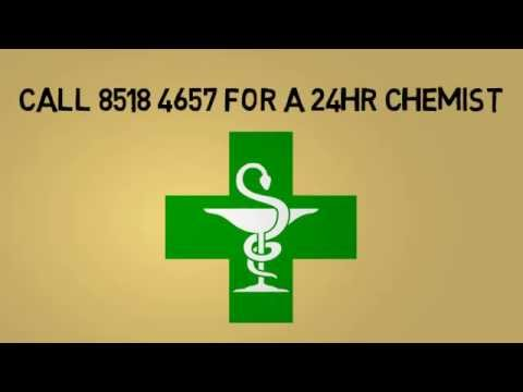24hr Chemist Melbourne | Call 8518 4657 for Location