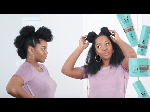 Flawless by Gabrielle Union | Wash Day Routine + 5 Quick Easy Styles