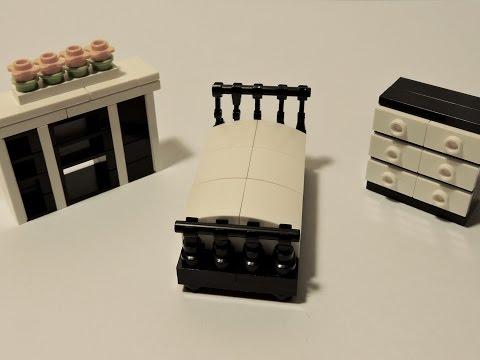 How To Make A Modern Lego Bedroom Set