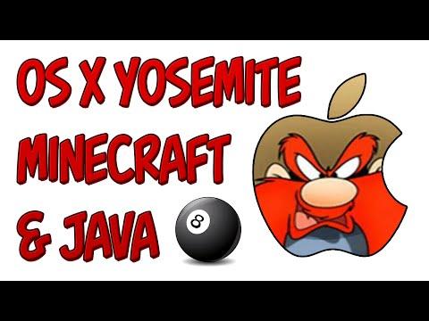 Minecraft | Java 8 on OS X Yosemite and Minecraft 1.8
