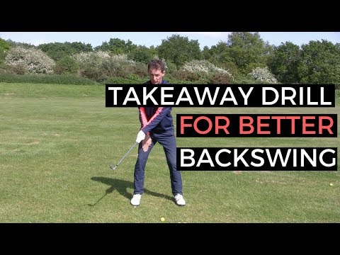 GOLF TAKEAWAY DRILL FOR BETTER BACKSWING