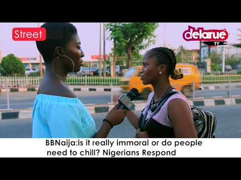 Delarue TV - Is BBNaija Really Immoral or People Need to Chill? Cover