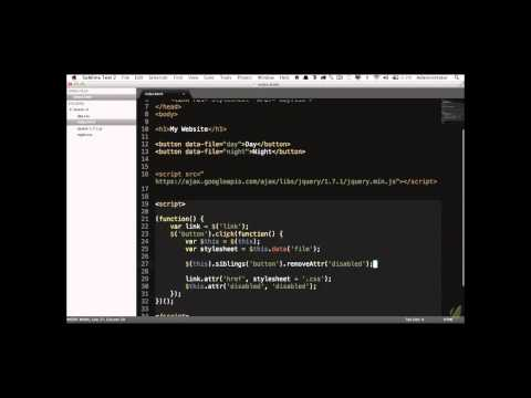 Learn jQuery in 30 Days: Lesson 1.3-2 - Events 101 Part2