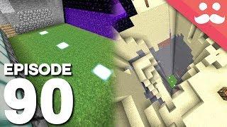 Hermitcraft 5: Episode 90 - Working PASSIVE MOB FARM!