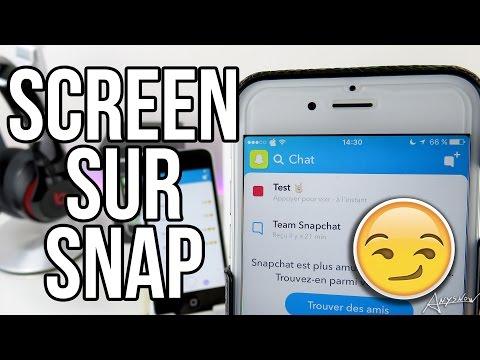 Faire une capture d'écran Snapchat discrètement ! (iPhone)