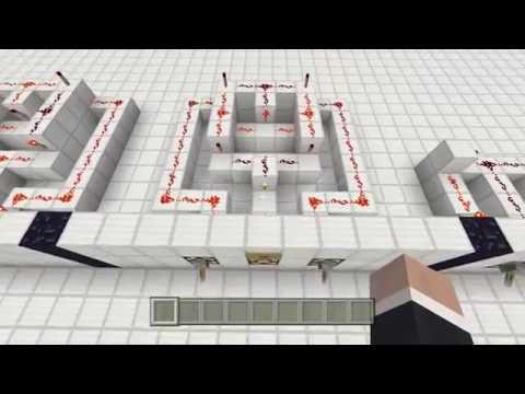 Minecraft - Redstone Logic Gates