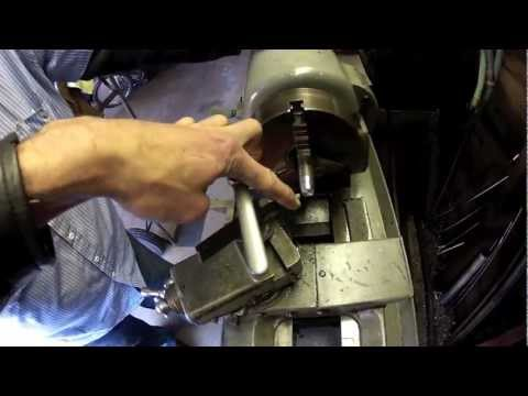 How to make a accurate taper using a standard lathe machine