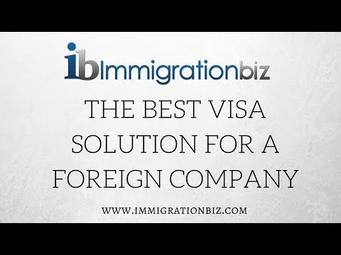 Visa to the USA for foreign business owners