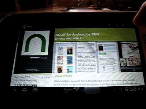 Nook Color (not the Nook Tablet) with Android ICS 4.0.3