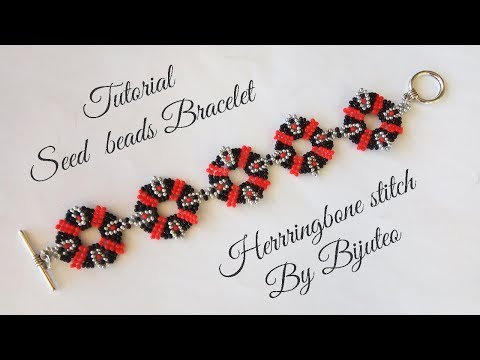 How to make seed beads bracelet - tutorial