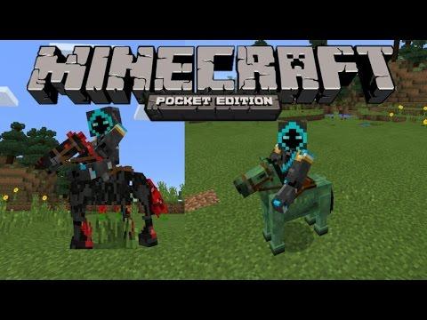 Cara Menaiki Zombie Horse dan Skeleton Horse Di Minecraft PE 0.16.0 Build 4!! (HowToRideUndeadHorse)