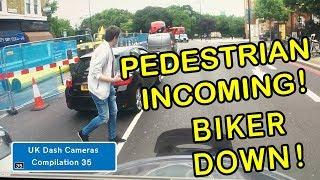 UK Dash Cameras - Compilation 35 - Bad Drivers, Crashes + Close Calls