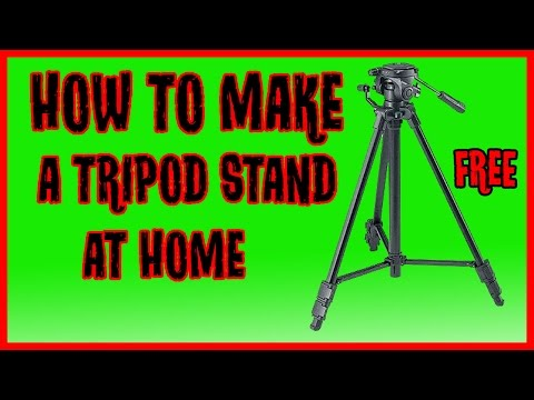 How to make DIY Tripod Stand At Home From Selfie Stick For smartphone and camera | DIY Tripod Stand