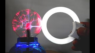 Download Plasma Ball experimentation with fluorescent tube lamp Surprisingly similar to tesla coil. Video