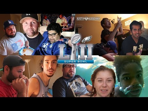 SOFTBALL CREW SUPER BOWL PARTY!   Kleschka Vlogs