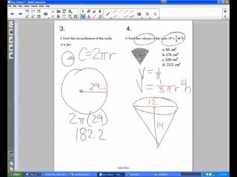 Geometry: Using formulas, finding the area of right triangle given vertices