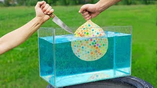 Experiment: 10.000 Balloons Under Water