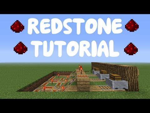 Minecraft 1.12: Redstone Tutorial - Advanced Minecart Storage System (Tileable)