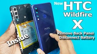 HTC Wildfire X Teardown   How to Open HTC Wildfire X Back Panel and Disconnect Battery