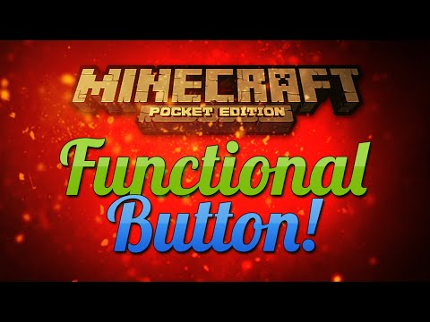 Functional Button?! - Minecraft Pocket Edition