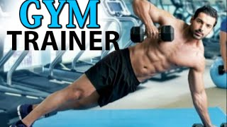 John Abraham Workout in Gym with Ranbir Kapoor & Hrithik Roshan, turns GYM Trainer