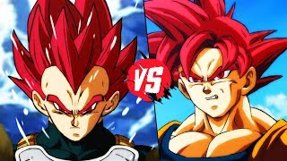 SSG Goku Vs SSG Vegeta (Dragon Ball Super)