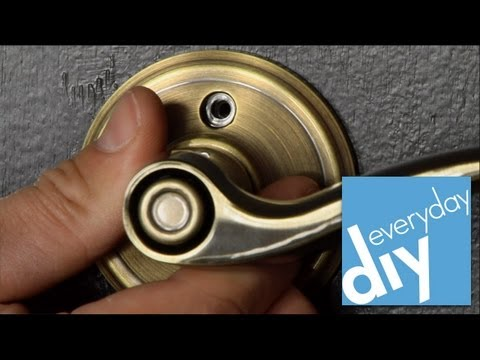 How to Replace Door Hardware -- Buildipedia DIY
