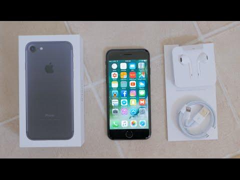 Apple iPhone 7 Unboxing  | Black