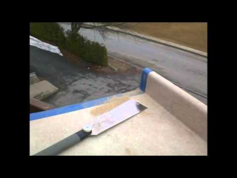 Cutting Kitchen Countertop  3 27 15