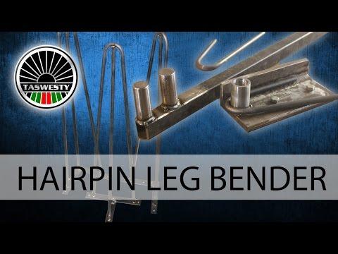Hairpin leg bender DIY