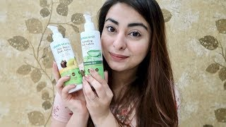 Best body lotions in India? Review: MamaEarth body lotions 🌿