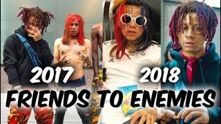 The History of 6ix9ine & Trippie Redds Beef (Friends To Enemies)