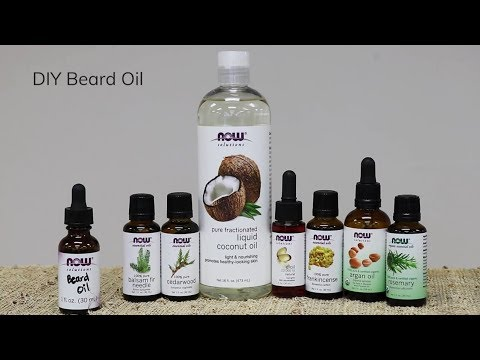 How to Make Beard Oil | DIY Recipe | NOW® Solutions
