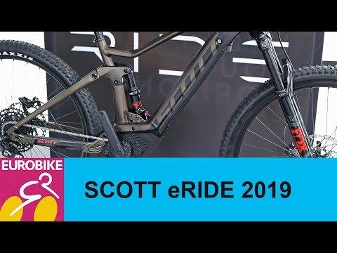 Scott eRIDE ebikes 2019 - Eurobike 2018