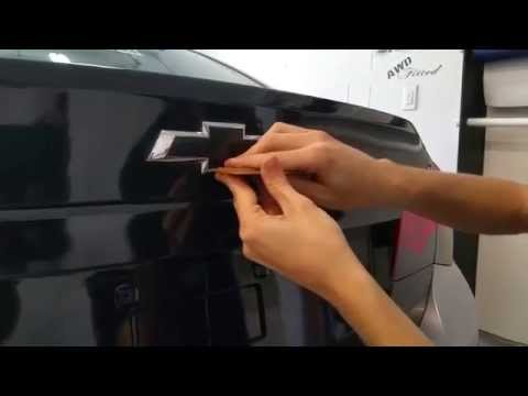 Chevy Bowtie Installation DIY Video