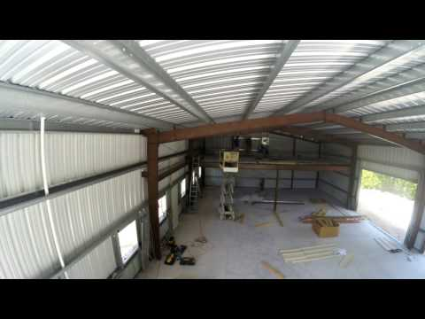 Day 12 of the construction  of my 40x60 Metal Building / Garage