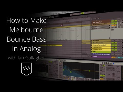 How to Make Melbourne Bounce Bass in Ableton's Analog Synth