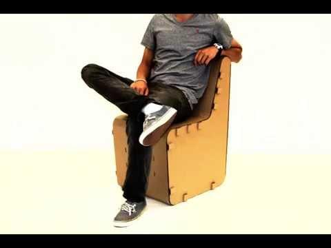 Strong Cardboard Chair -500lbs+