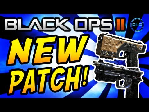 Black Ops 2 NEW PATCH - KAP-40 & B23R Changes, Camo DLC & MORE! - (COD BO2 Gameplay)