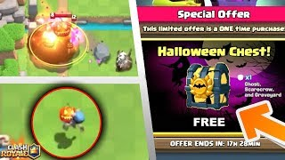 New Insane Halloween Update Leaked? Clash Royale October Update Ideas/wishlist!