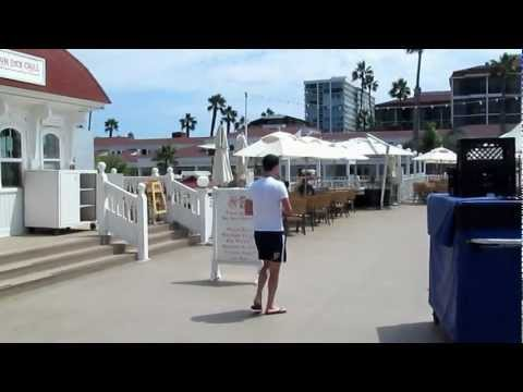 Beach at Coronado Island, San Diego, Ca
