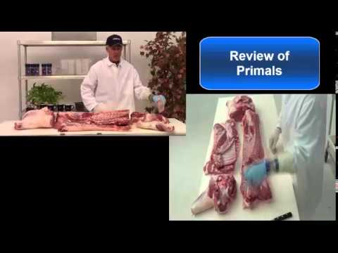 Pork Carcass Cutting Demonstration with Jim Weathers