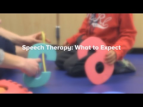 Speech Therapy: What to Expect | Cincinnati Children's