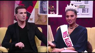 ملكة جمال الجزائر خديجة بن حمو ترد بقوة على شاهيناز سهام ، لهذا السبب عملت في مطعم ؟