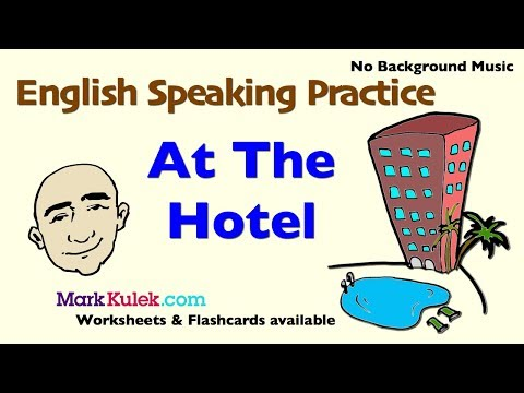 At The Hotel - English Speaking Practice For Communication | ESL