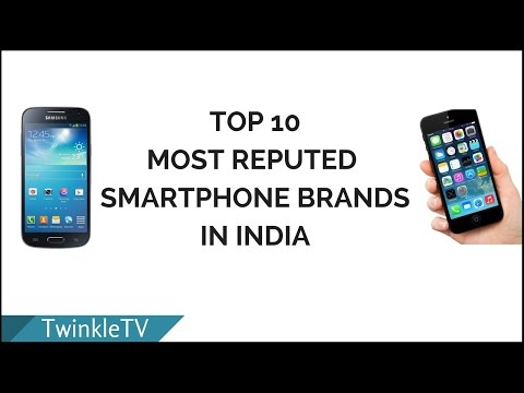 Top 10 Most Reputed Smartphone Brands in India | Most Popular Phones