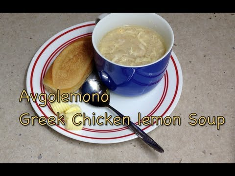 Greek Lemon Chicken Soup Avgolemono pressure cooker recipe cheekyricho