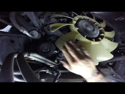 09 f150 fan clutch replacment