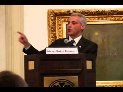 Mayor Emanuel on Expunging Juvenile Criminal Records